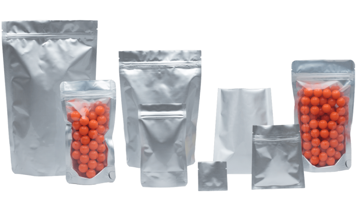 Aluminium Pouches and bags by Polypouch UK
