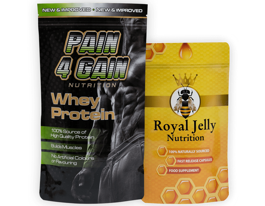Nutrition & Supplement Pouches and Bags