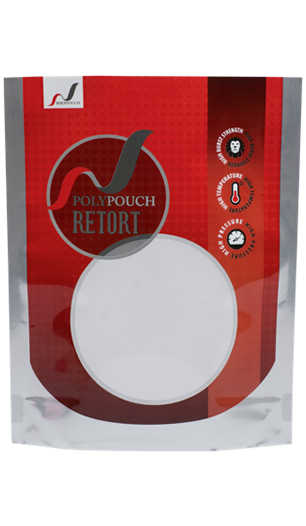 Retort stand up pouches supplied by Polypouch UK