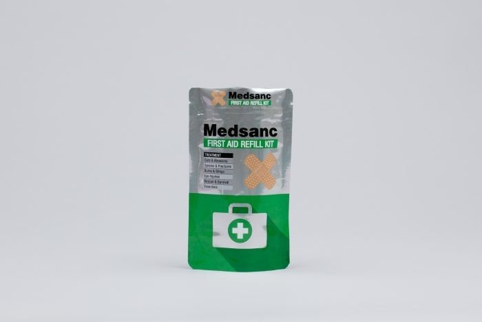 Medical products stand up pouch by Polypouch UK