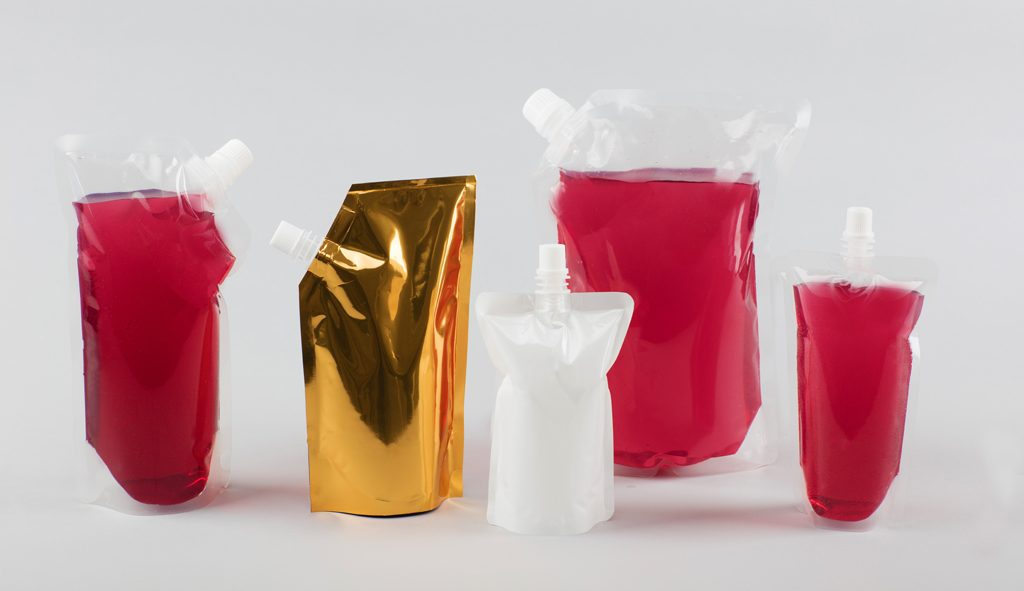 Spout Drink Pouches and Bags